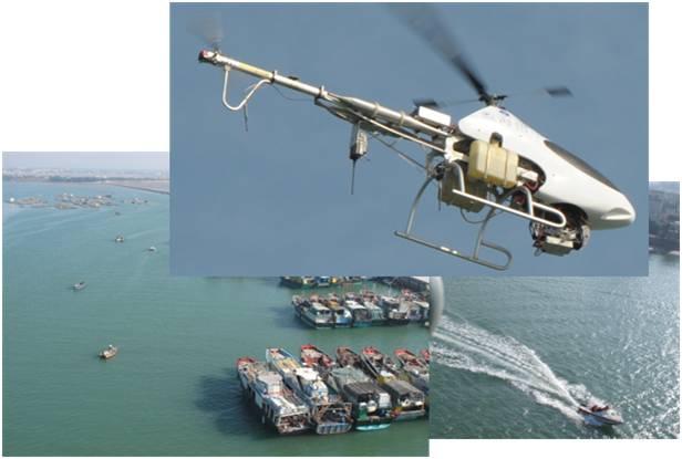无人直升机监测系统scut